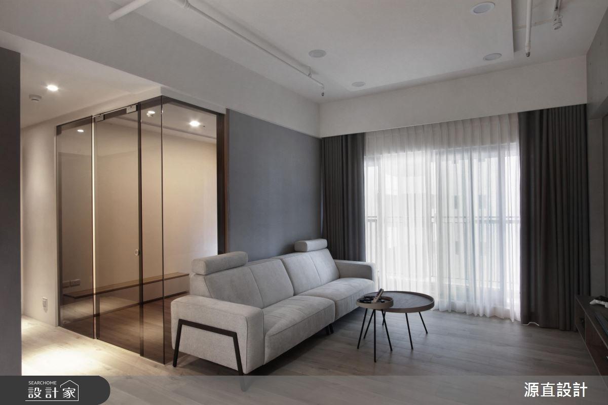 43坪新成屋(5年以下)_現代風客廳案例圖片_源直聯合設計事務所_源直_09之9
