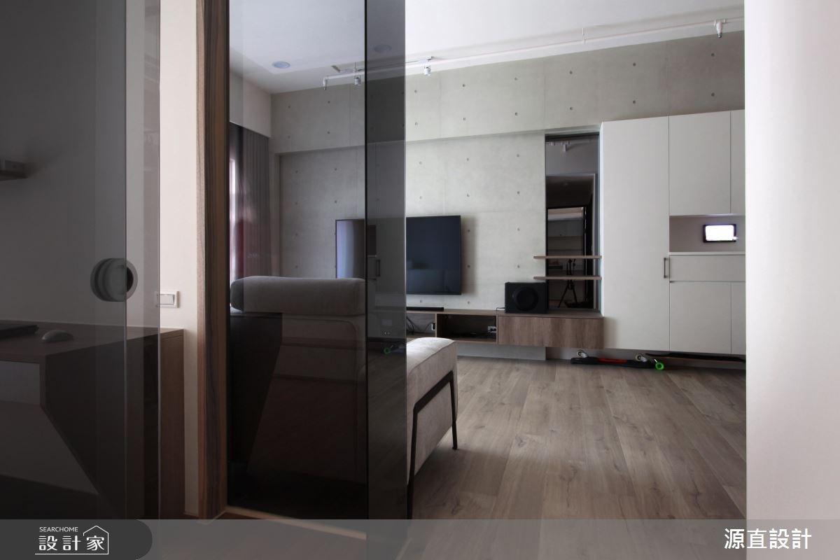 43坪新成屋(5年以下)_現代風客廳案例圖片_源直聯合設計事務所_源直_09之10