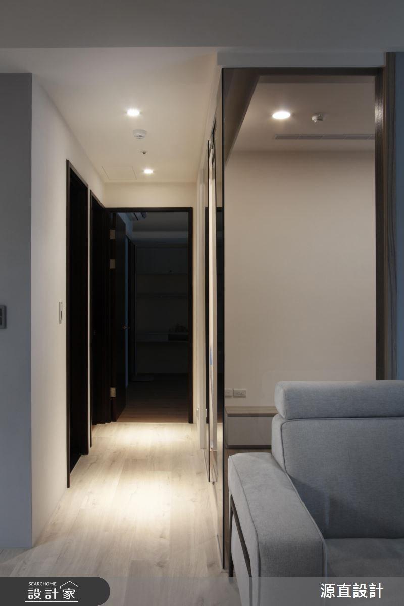 43坪新成屋(5年以下)_現代風走廊案例圖片_源直聯合設計事務所_源直_09之12