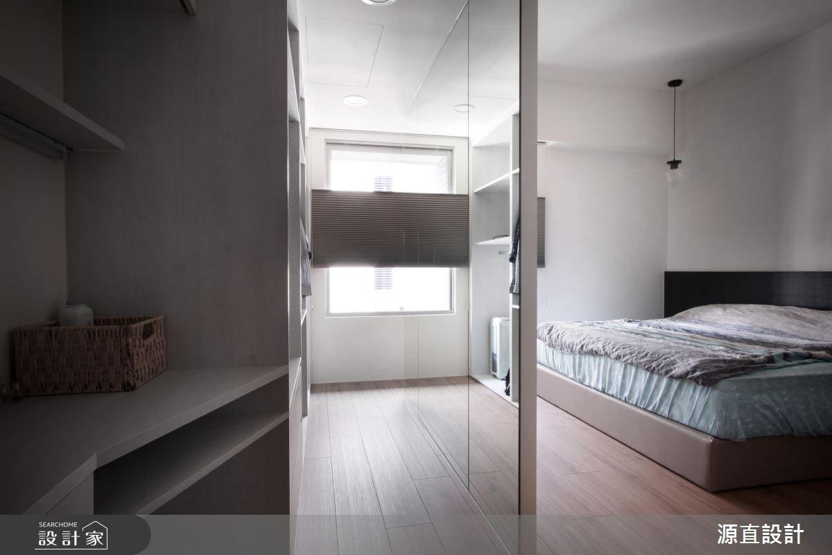 43坪新成屋(5年以下)_現代風臥室案例圖片_源直聯合設計事務所_源直_09之13