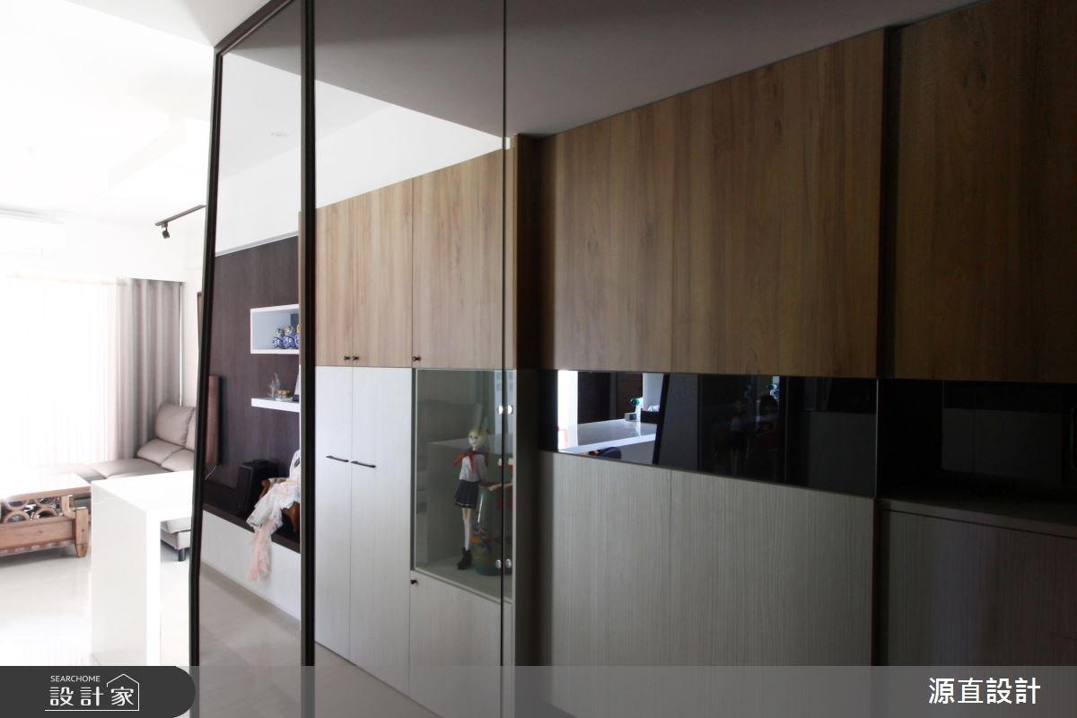 43坪新成屋(5年以下)_混搭風玄關案例圖片_源直聯合設計事務所_源直_10之2