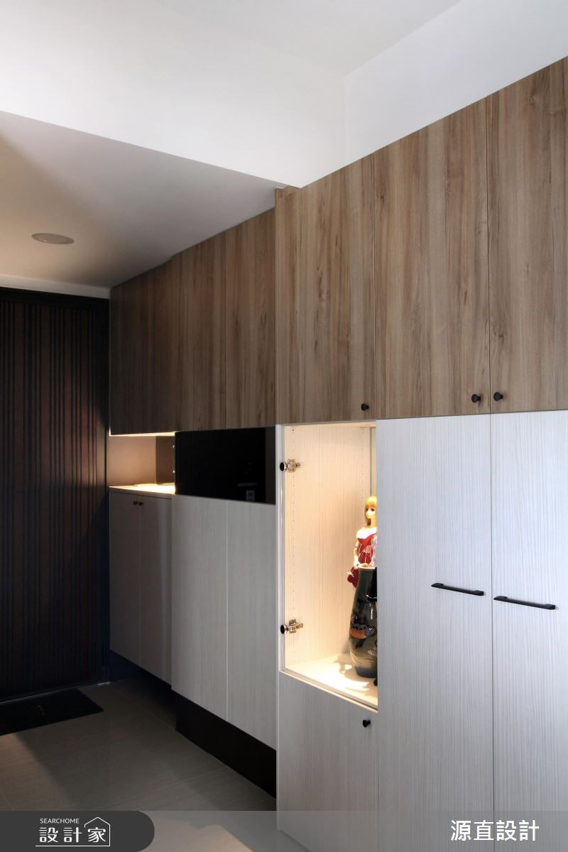 43坪新成屋(5年以下)_混搭風玄關案例圖片_源直聯合設計事務所_源直_10之3