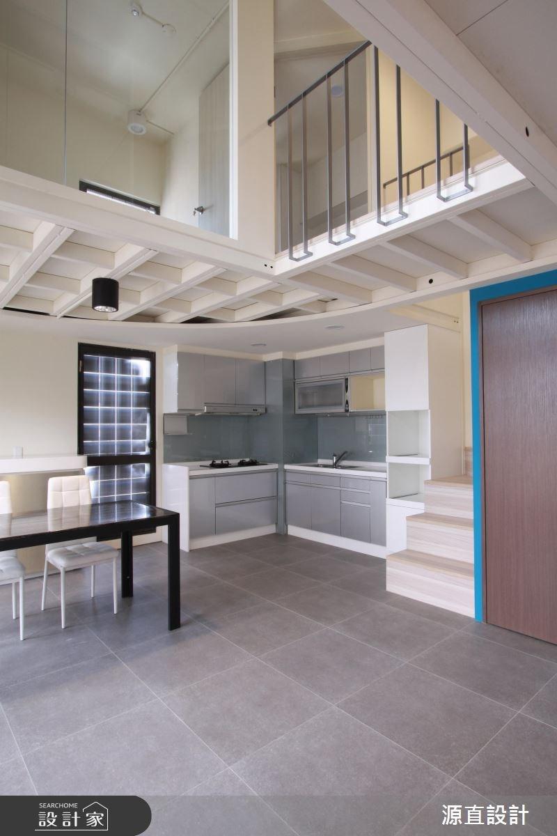 30坪中古屋(5~15年)_現代風廚房案例圖片_源直聯合設計事務所_源直_11之3