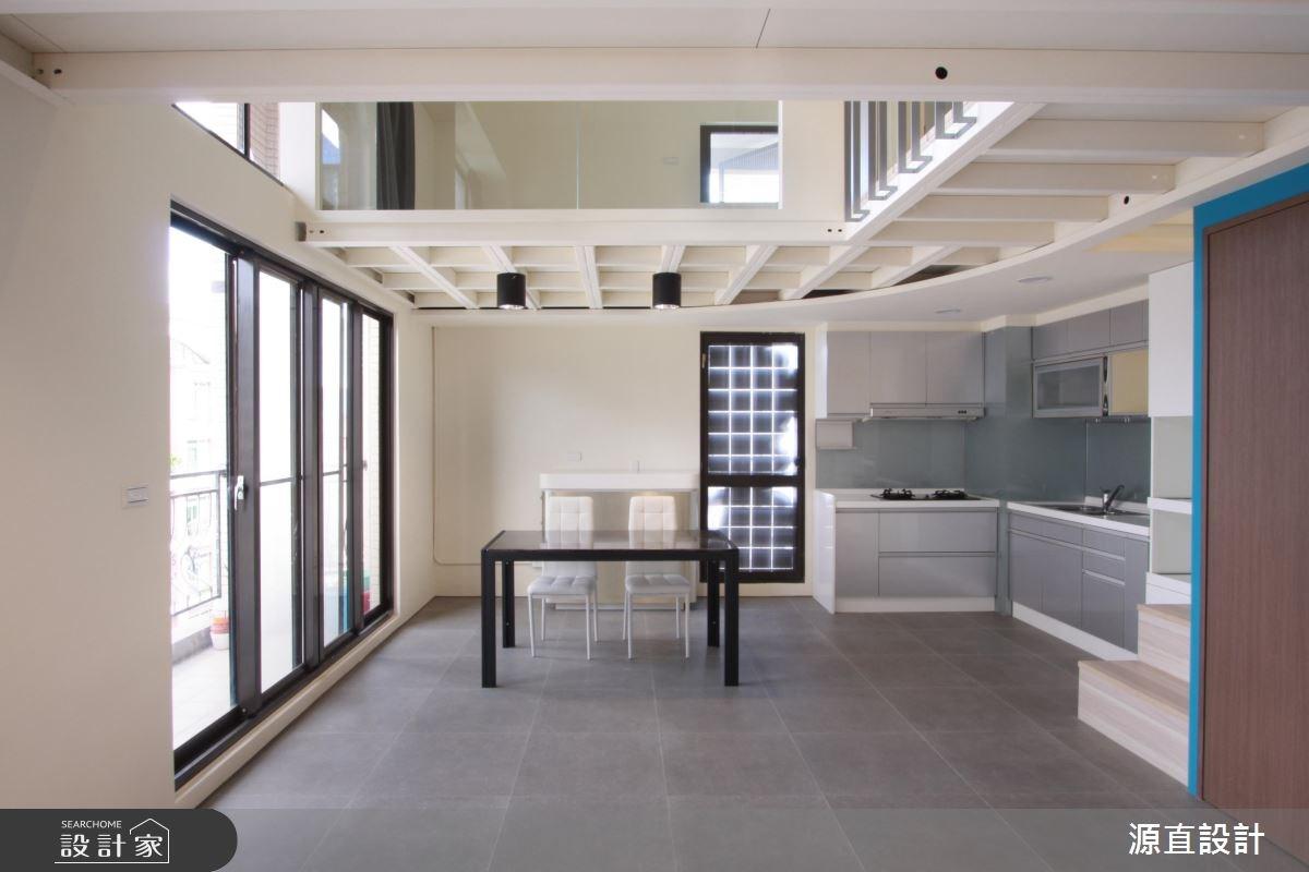 30坪中古屋(5~15年)_現代風廚房案例圖片_源直聯合設計事務所_源直_11之4
