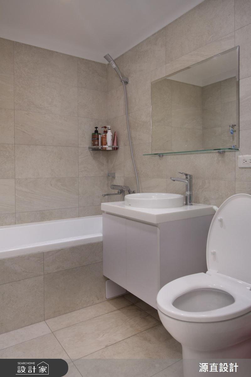 31坪老屋(16~30年)_混搭風浴室案例圖片_源直聯合設計事務所_源直_12之13