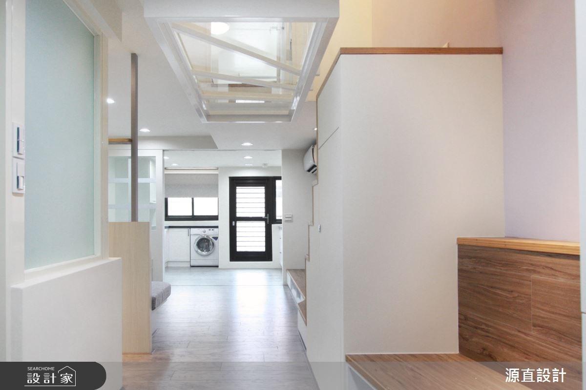 30坪新成屋(5年以下)_北歐風玄關案例圖片_源直聯合設計事務所_源直_14之2