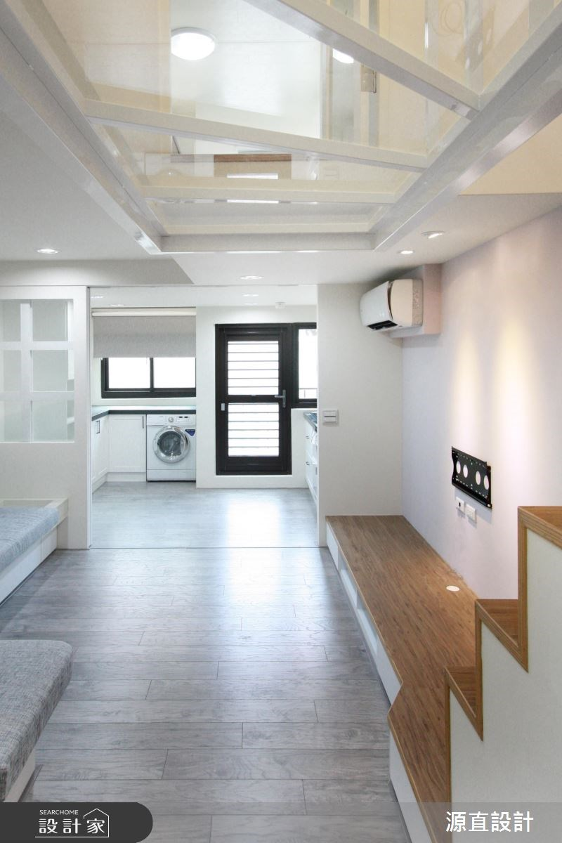 30坪新成屋(5年以下)_北歐風玄關案例圖片_源直聯合設計事務所_源直_14之3