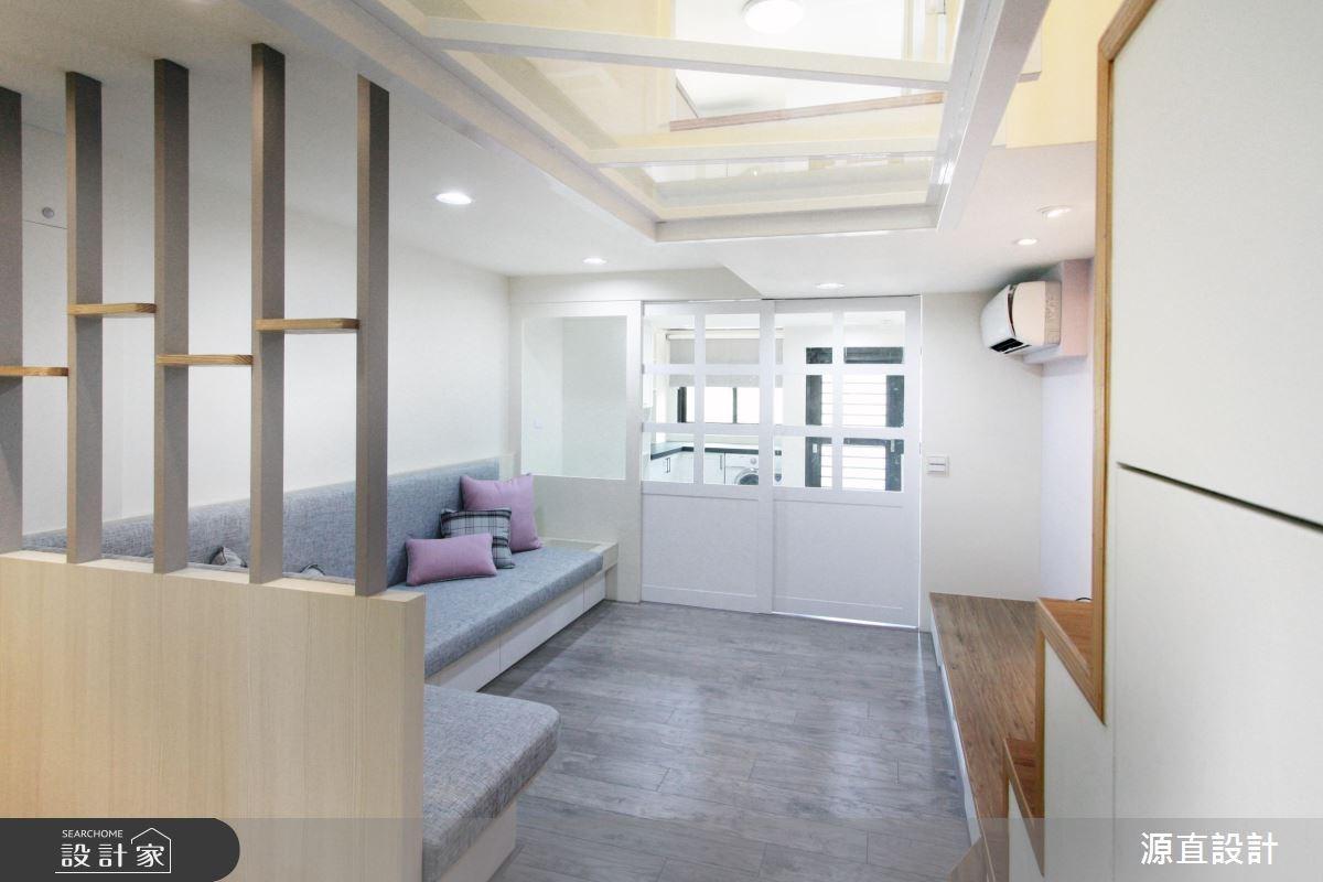 30坪新成屋(5年以下)_北歐風客廳案例圖片_源直聯合設計事務所_源直_14之4