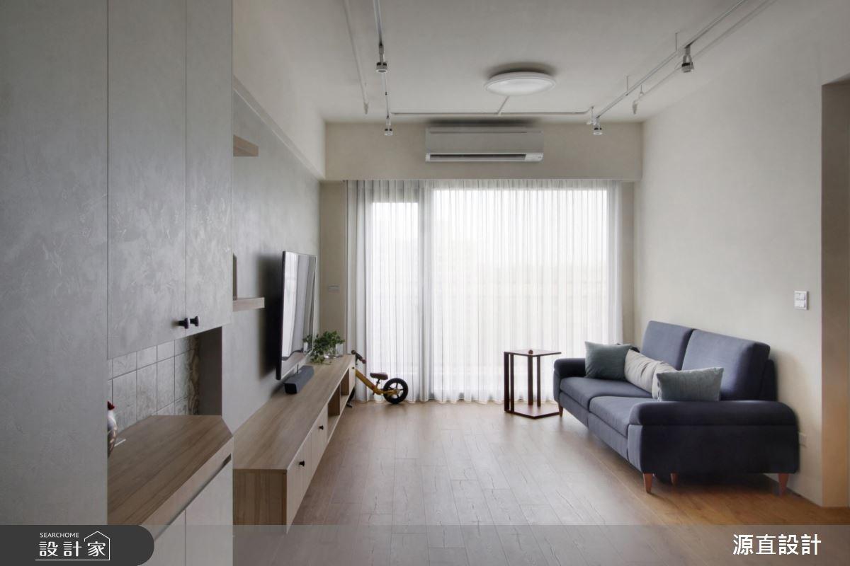 20坪新成屋(5年以下)_簡約風客廳案例圖片_源直聯合設計事務所_源直_15之2