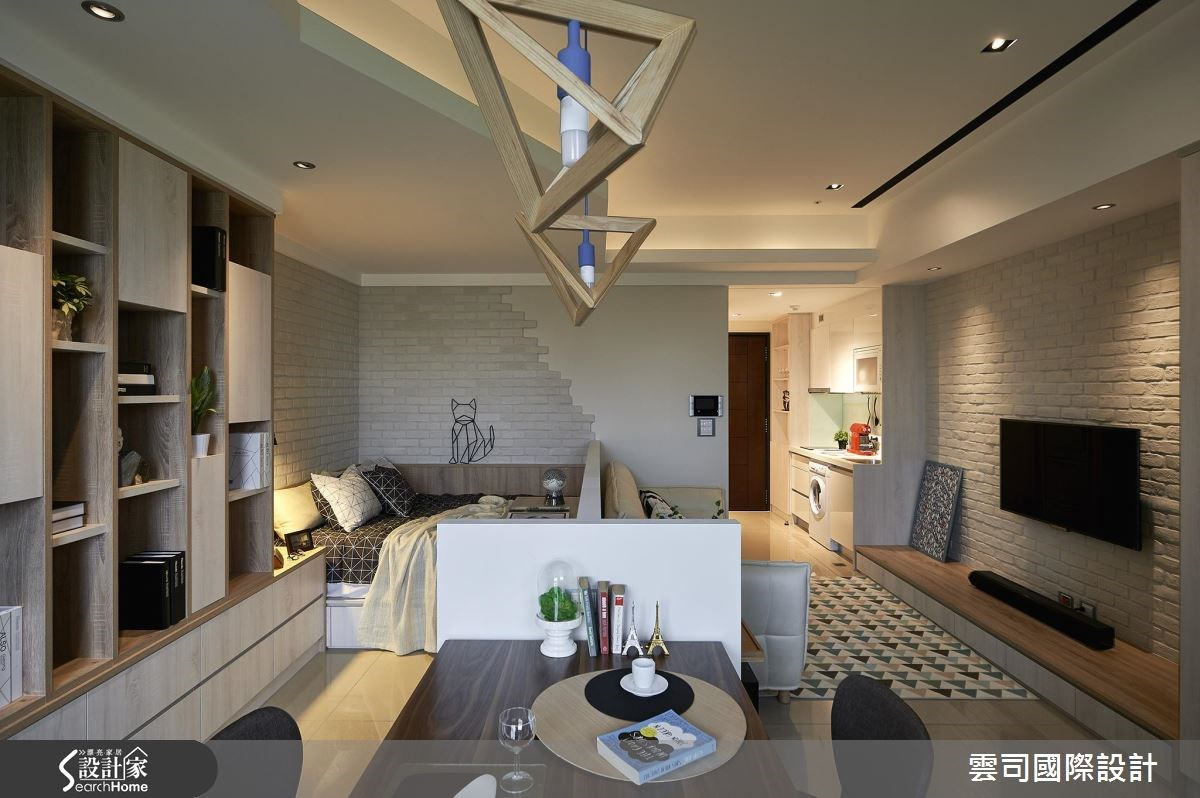 11坪新成屋(5年以下)_北歐風案例圖片_雲司國際設計_雲司_08之5