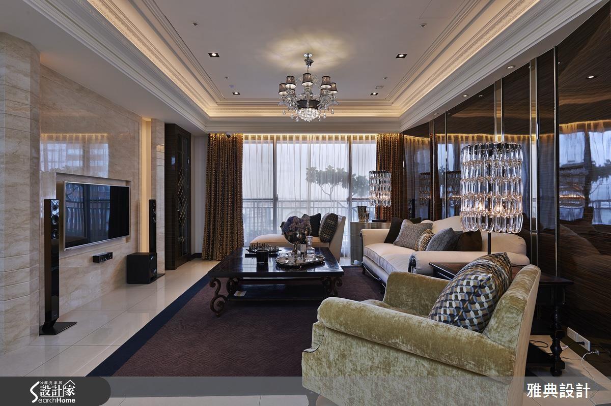 華麗精緻作工 復刻90坪新古典藝術私宅