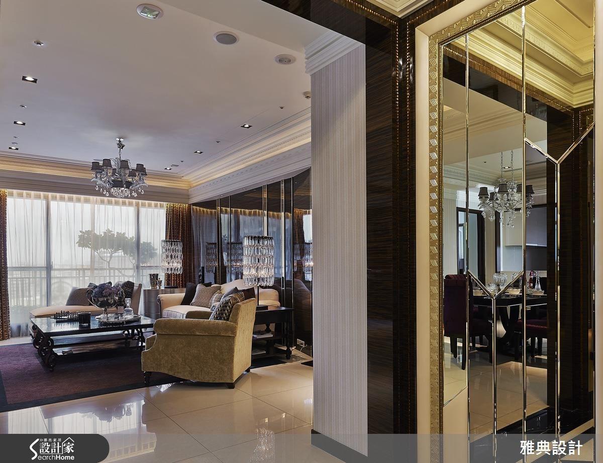 90坪新成屋(5年以下)_新古典案例圖片_雅典設計工程有限公司_雅典_03之3