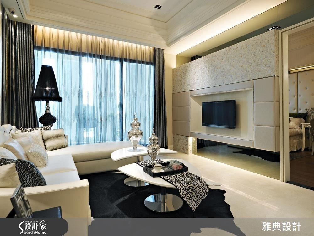 35坪新成屋(5年以下)_現代風客廳案例圖片_雅典設計工程有限公司_雅典_28之5