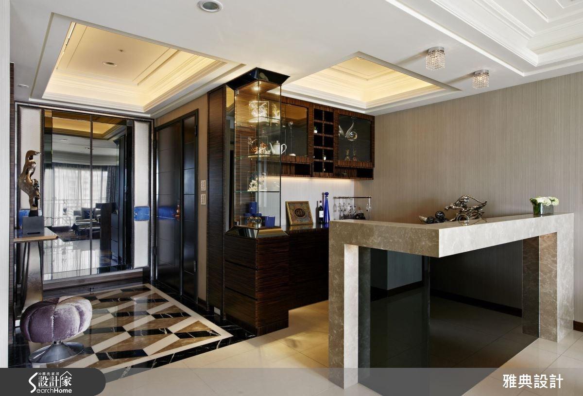 80坪新成屋(5年以下)_奢華風吧檯案例圖片_雅典設計工程有限公司_雅典_29之2