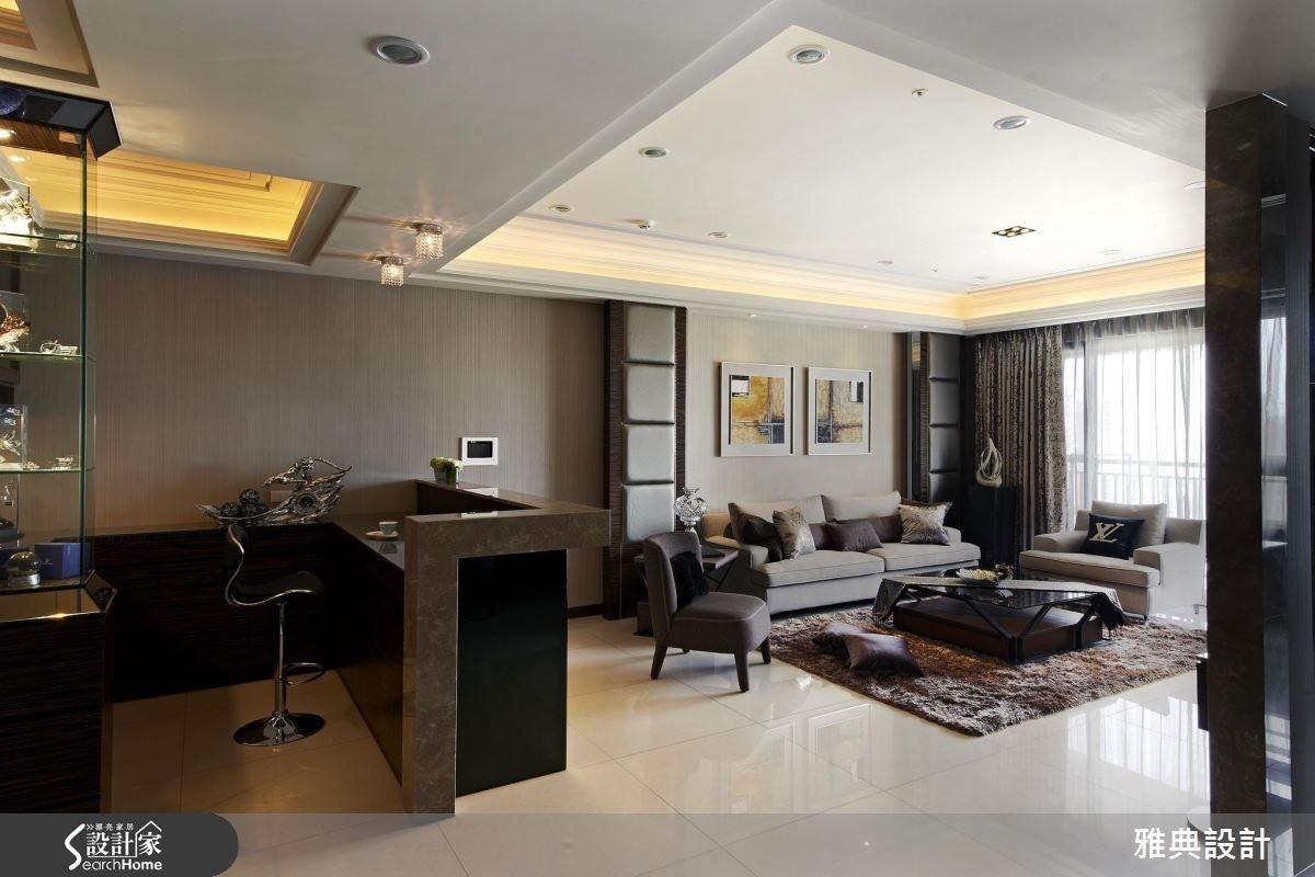 80坪新成屋(5年以下)_奢華風客廳案例圖片_雅典設計工程有限公司_雅典_29之3