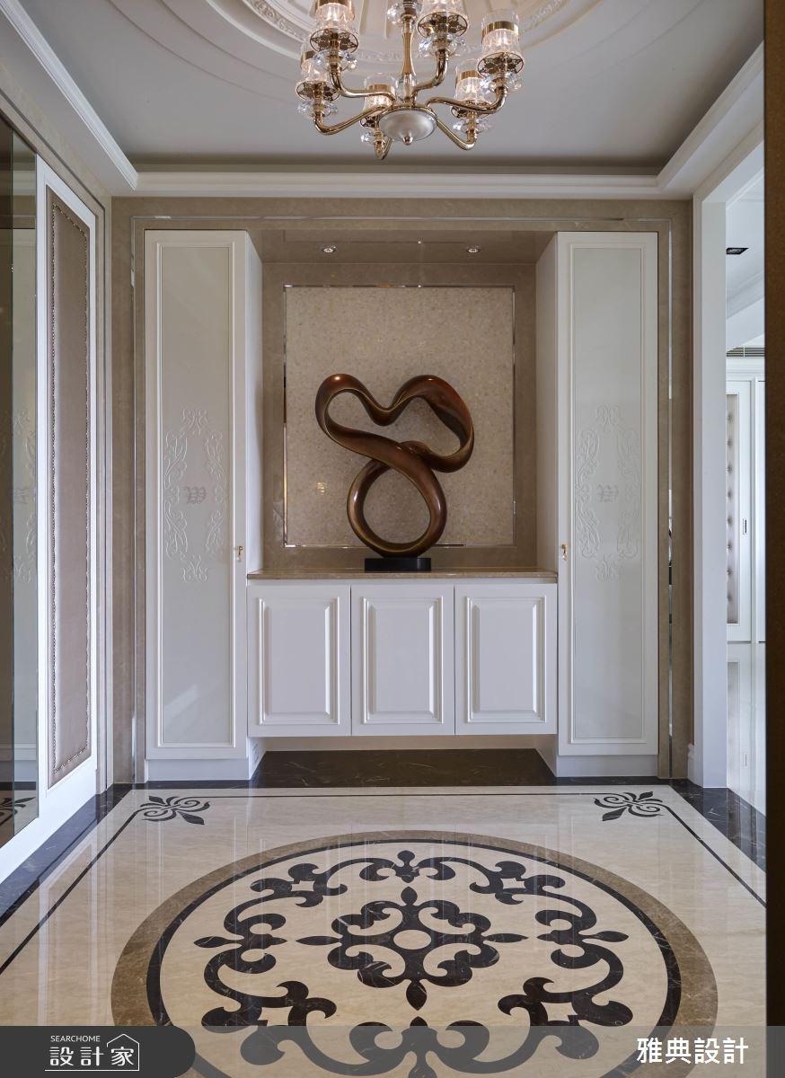 80坪新成屋(5年以下)_美式風玄關案例圖片_雅典設計工程有限公司_雅典_31之2