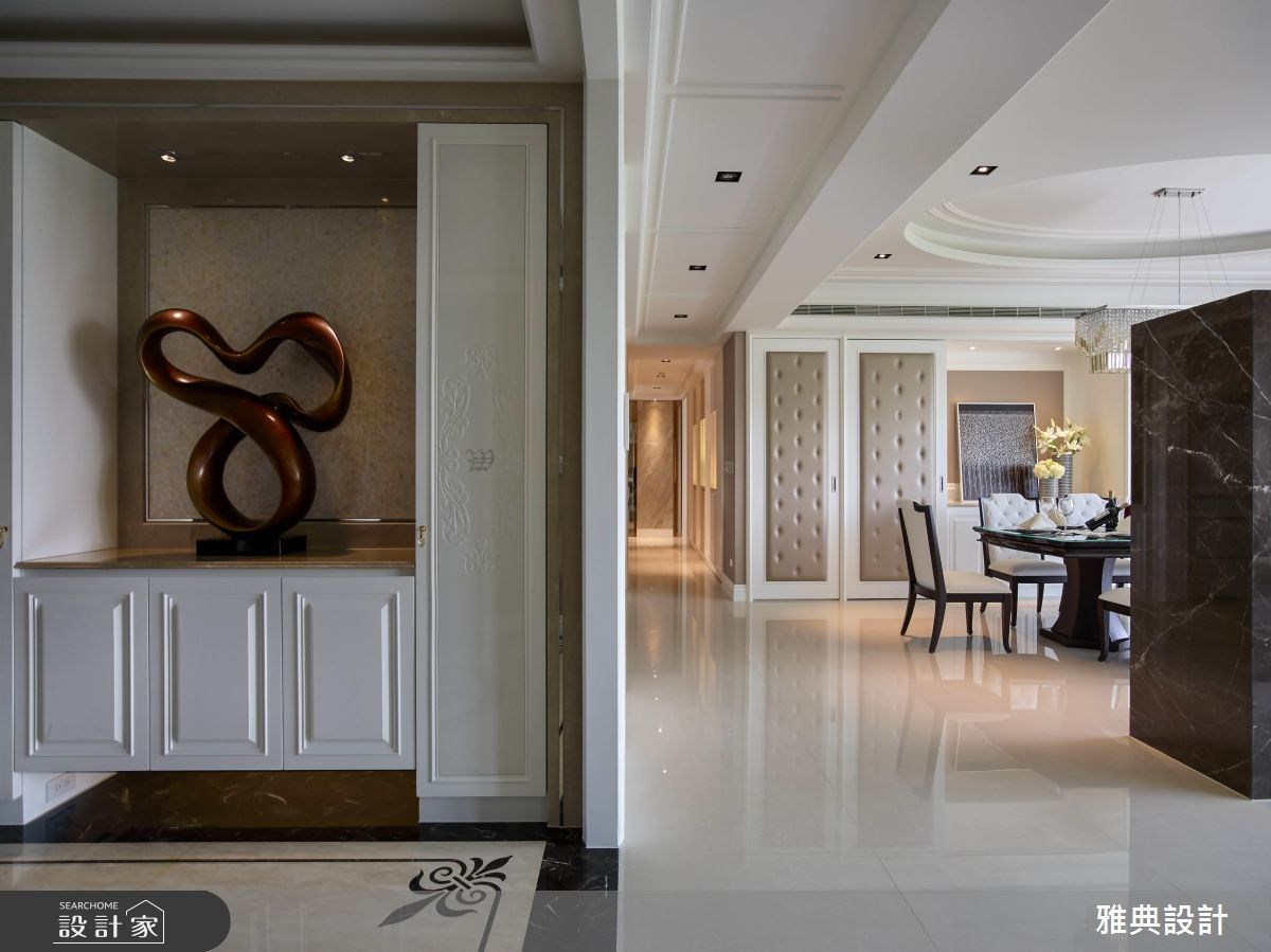 80坪新成屋(5年以下)_美式風玄關案例圖片_雅典設計工程有限公司_雅典_31之3