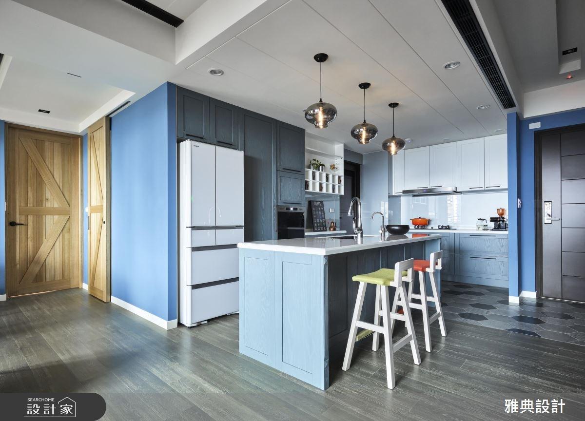 43坪新成屋(5年以下)_工業風吧檯案例圖片_雅典設計工程有限公司_雅典_34之4