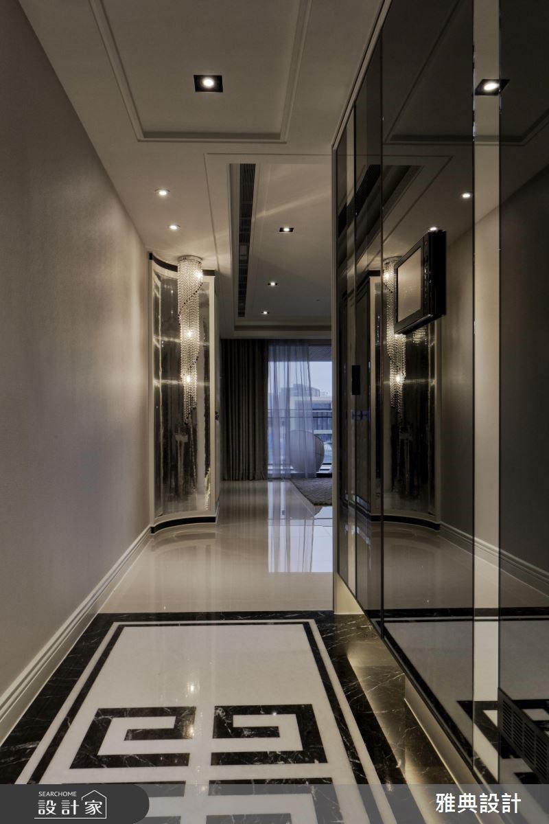 35坪新成屋(5年以下)_奢華風玄關案例圖片_雅典設計工程有限公司_雅典_35之2