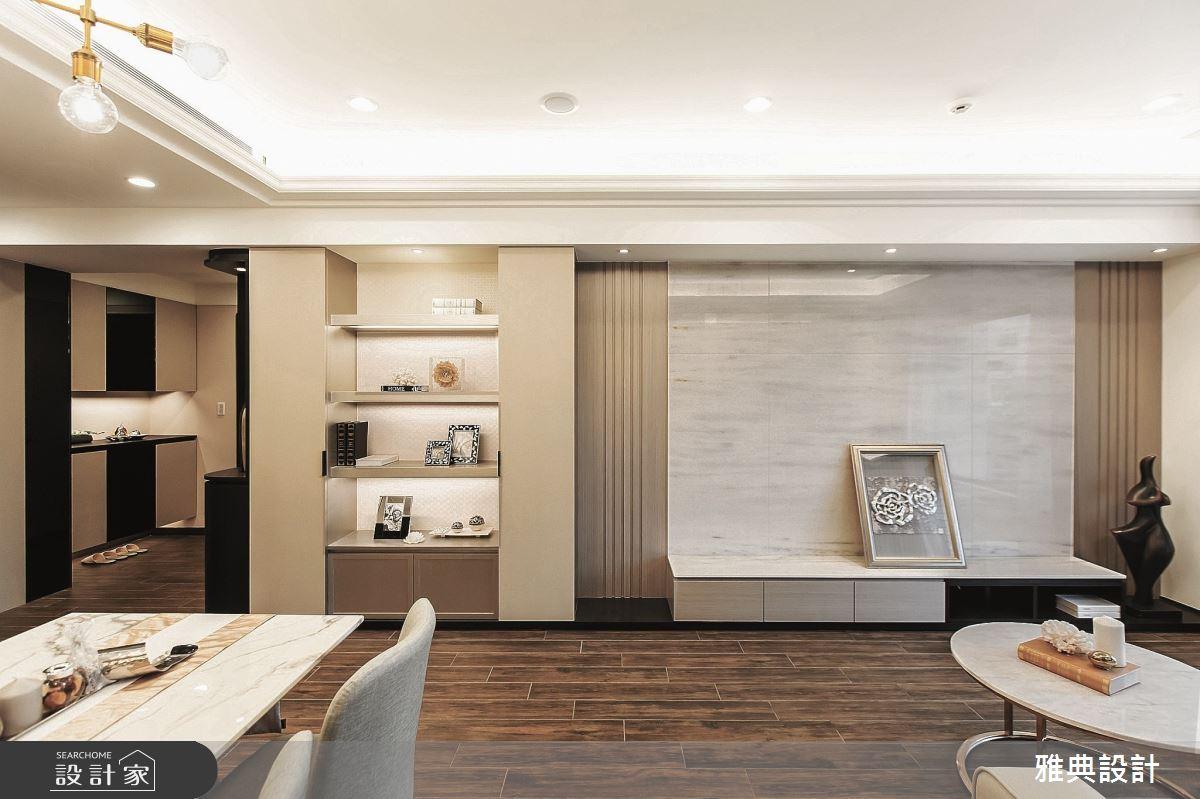 46坪新成屋(5年以下)_現代風客廳餐廳案例圖片_雅典設計工程有限公司_雅典_37之6