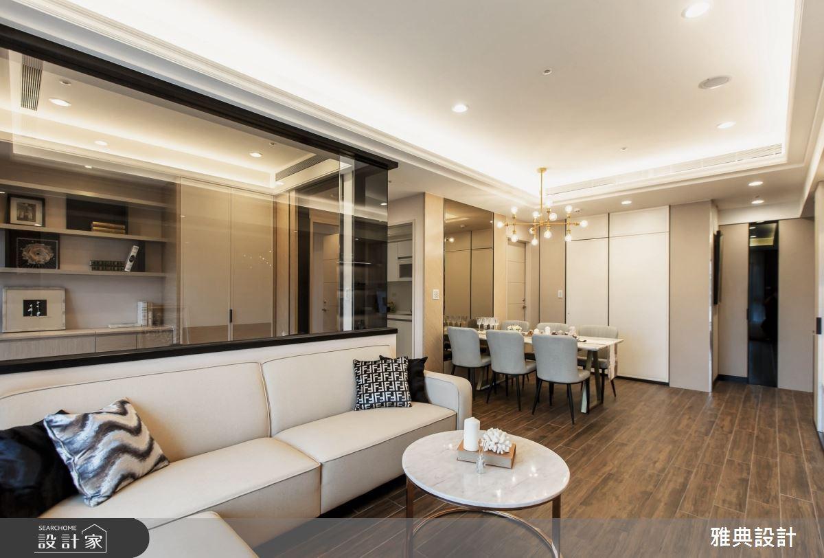 46坪新成屋(5年以下)_現代風客廳餐廳案例圖片_雅典設計工程有限公司_雅典_37之4