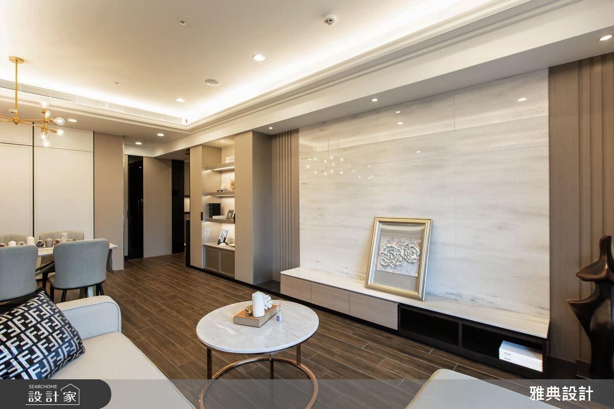46坪新成屋(5年以下)_現代風客廳案例圖片_雅典設計工程有限公司_雅典_37之5