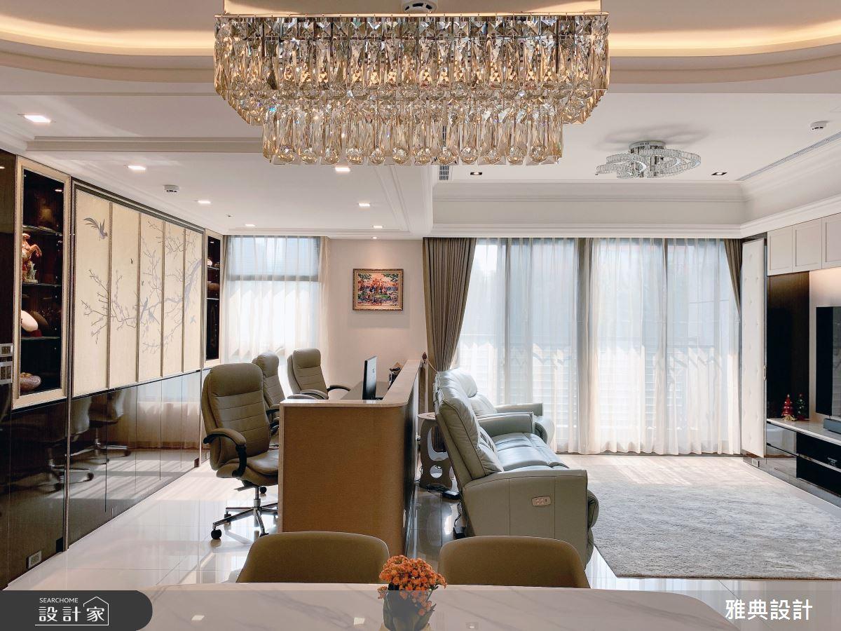 40坪新成屋(5年以下)_休閒風客廳案例圖片_雅典設計工程有限公司_雅典_43之2