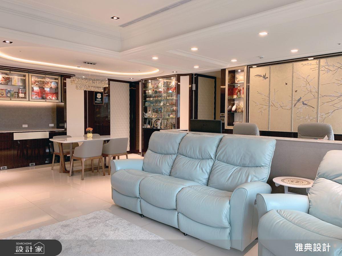 40坪新成屋(5年以下)_休閒風客廳案例圖片_雅典設計工程有限公司_雅典_43之4