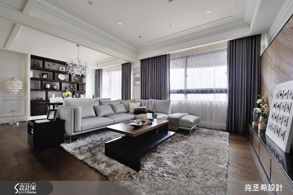 打開 35 坪空間視野 讓一家 3 口擁有新古典小豪宅!
