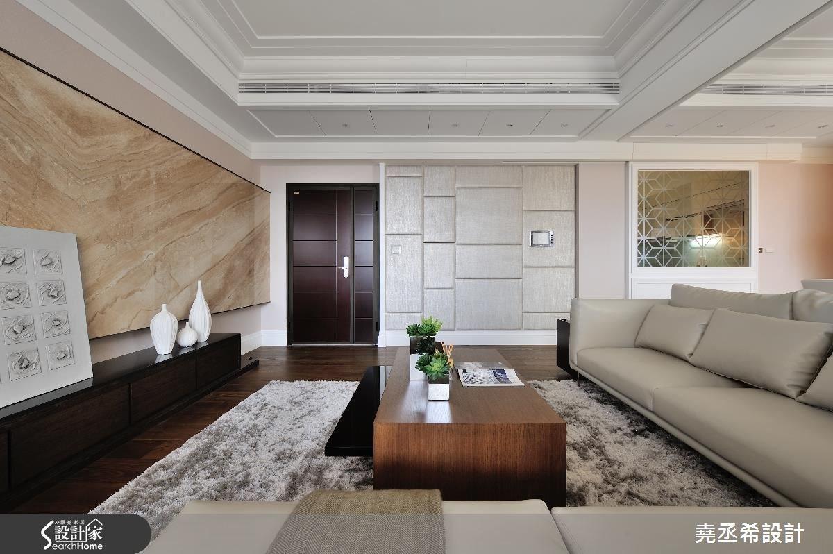 35坪新成屋(5年以下)_新古典案例圖片_堯丞希設計_堯丞希_01之4