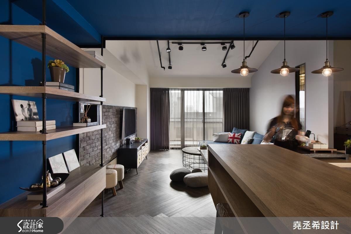 30坪新成屋(5年以下)_工業風案例圖片_堯丞希設計_堯丞希_03之2