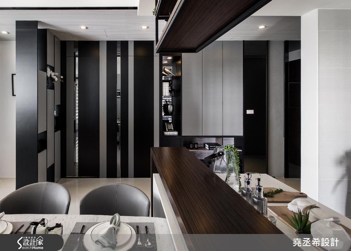 26坪新成屋(5年以下)_現代風餐廳案例圖片_堯丞希設計_堯丞希_08之2