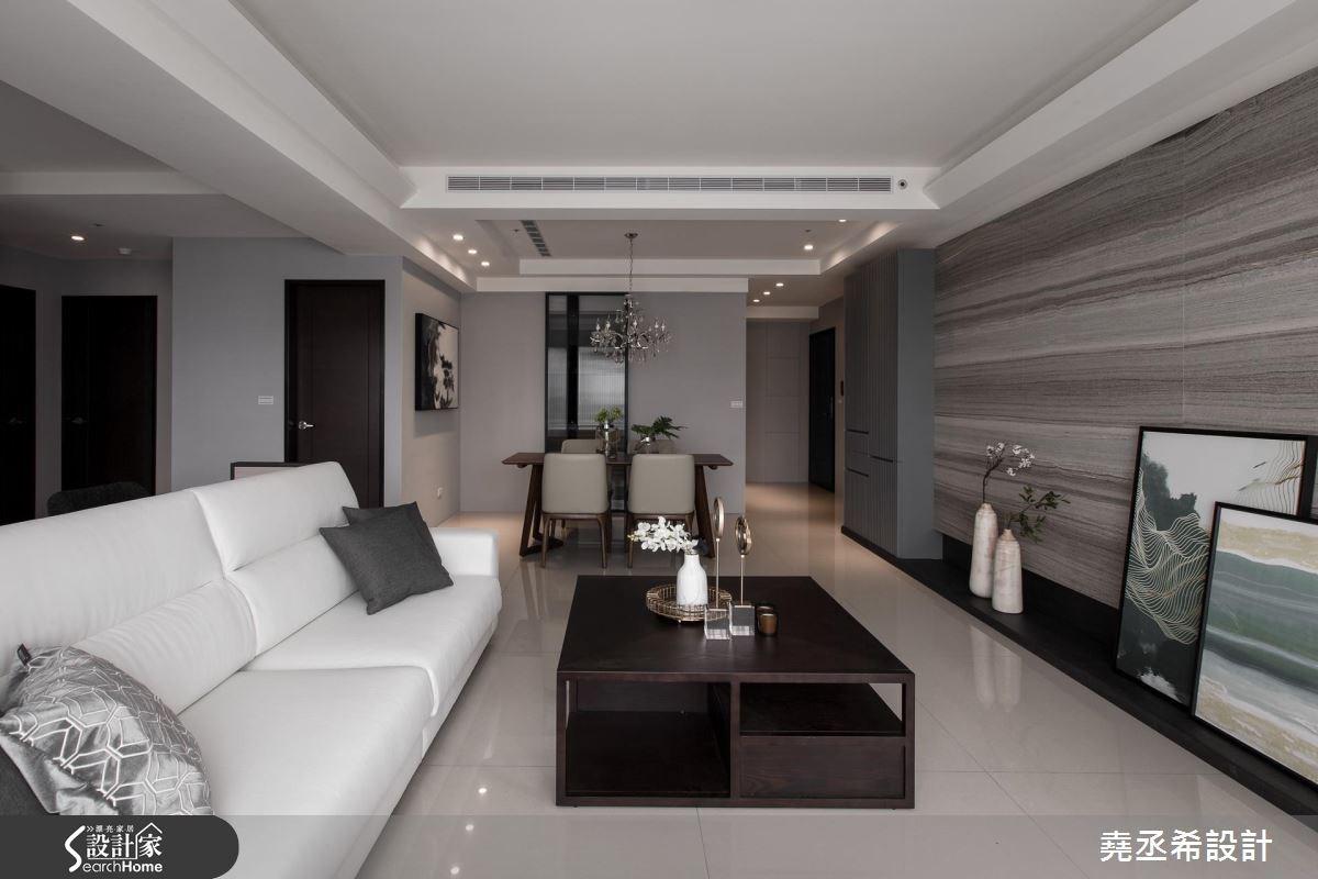 45坪新成屋(5年以下)_混搭風客廳案例圖片_堯丞希設計_堯丞希_15之9