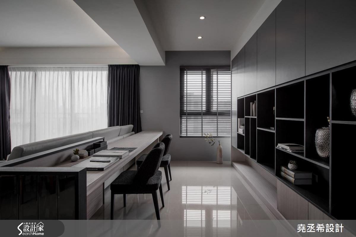45坪新成屋(5年以下)_混搭風工作區案例圖片_堯丞希設計_堯丞希_15之12