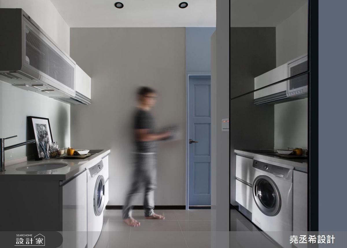 17坪新成屋(5年以下)_混搭風廚房案例圖片_堯丞希設計_堯丞希_16之1