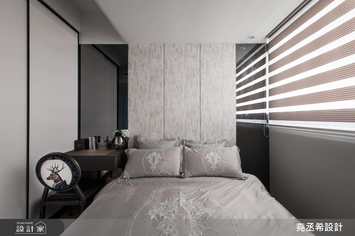 17坪新成屋(5年以下)_混搭風臥室案例圖片_堯丞希設計_堯丞希_16之10