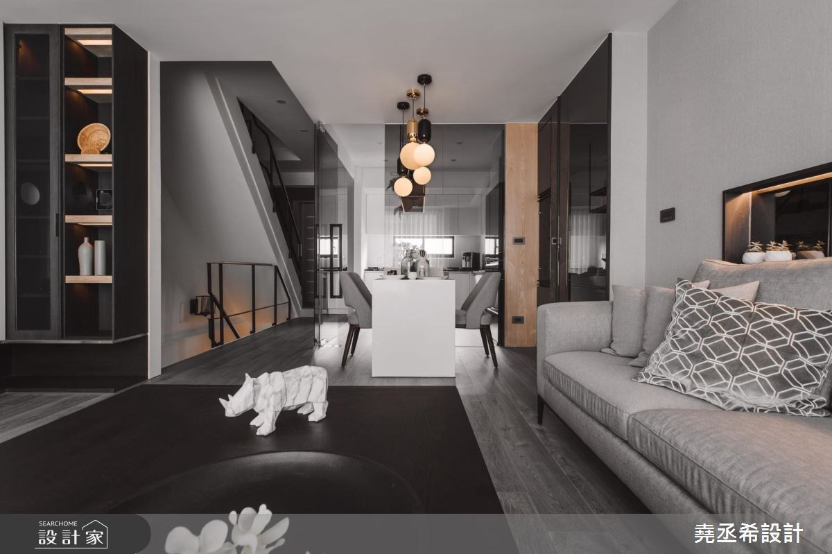 80坪新成屋(5年以下)_現代風客廳案例圖片_堯丞希設計_堯丞希_17之2