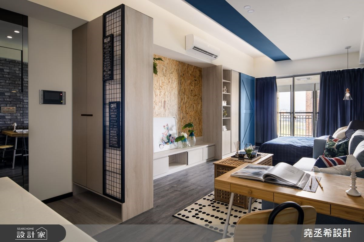 10坪新成屋(5年以下)_工業風客廳案例圖片_堯丞希設計_堯丞希_22之3