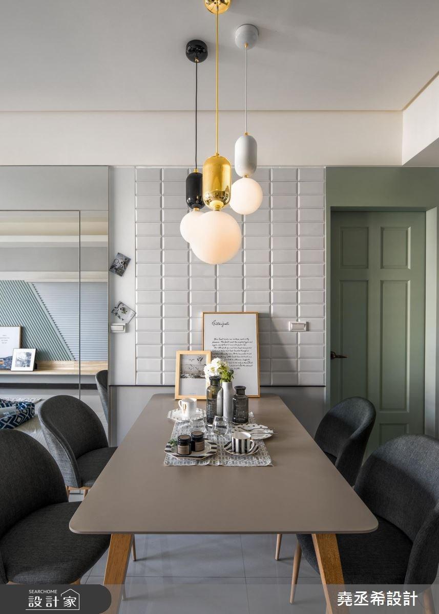 20坪新成屋(5年以下)_北歐風餐廳案例圖片_堯丞希設計_堯丞希_25之7