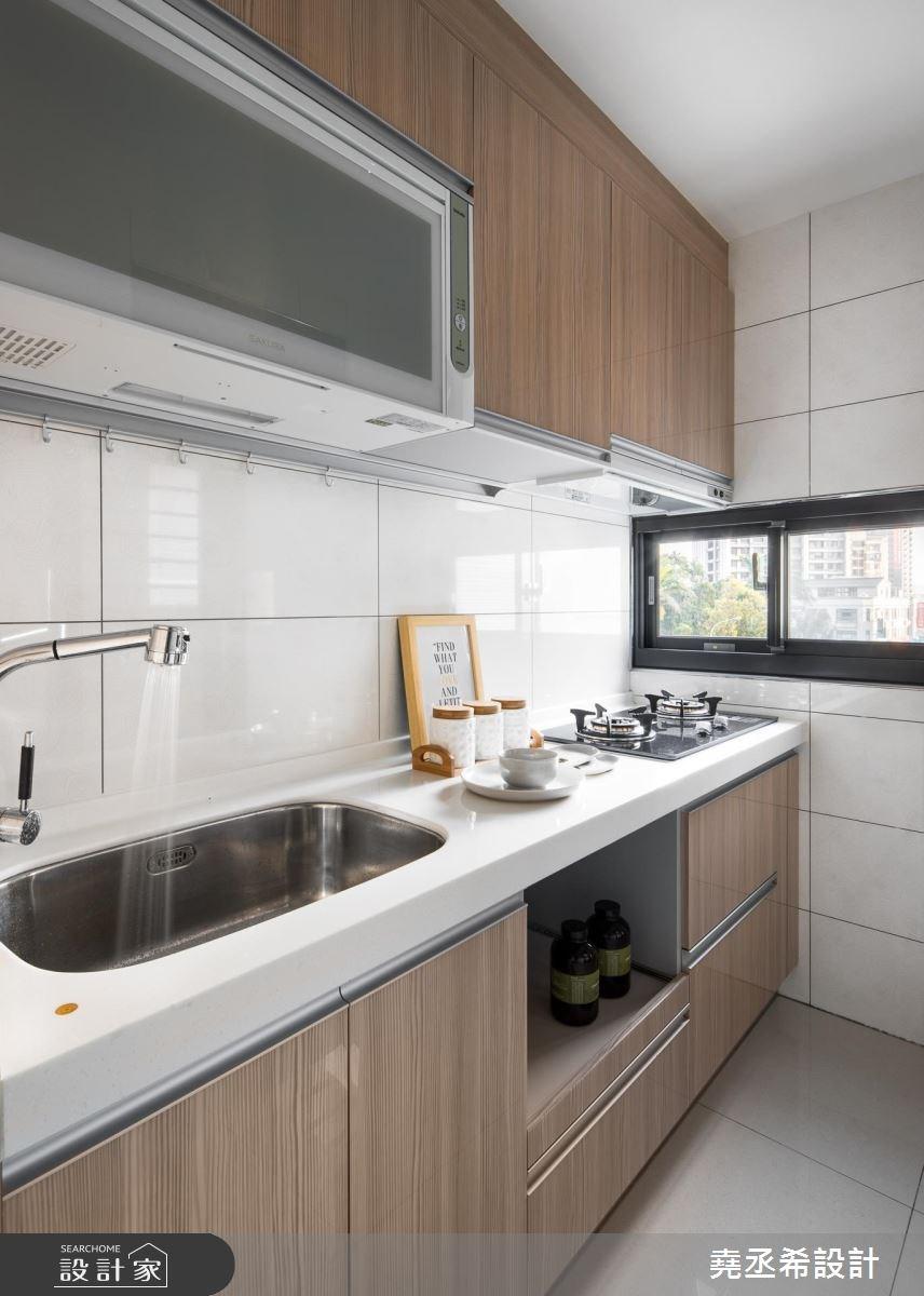 20坪新成屋(5年以下)_北歐風廚房案例圖片_堯丞希設計_堯丞希_25之12