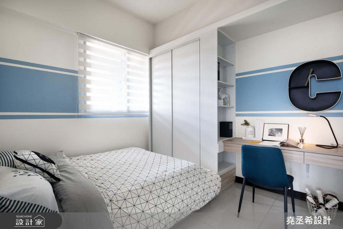 20坪新成屋(5年以下)_北歐風臥室案例圖片_堯丞希設計_堯丞希_25之16
