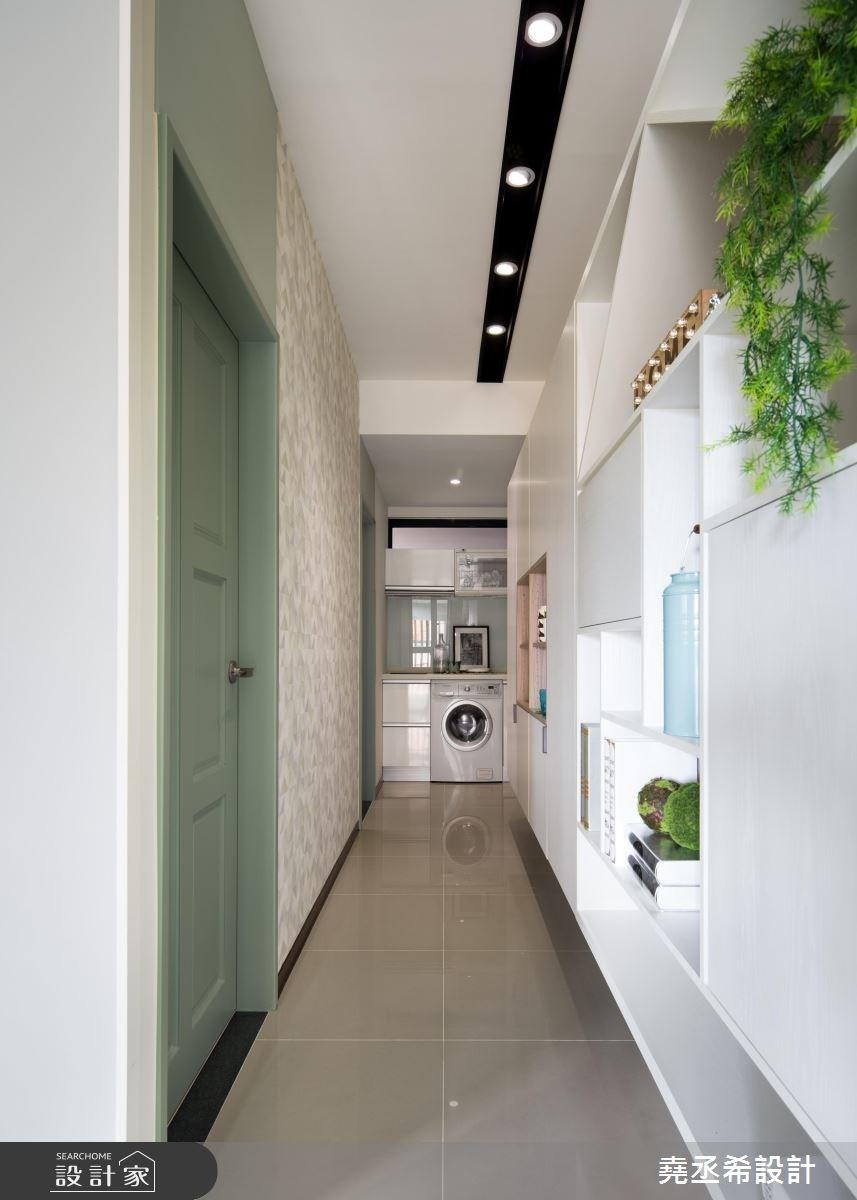17坪新成屋(5年以下)_北歐風走廊案例圖片_堯丞希設計_堯丞希_27之3