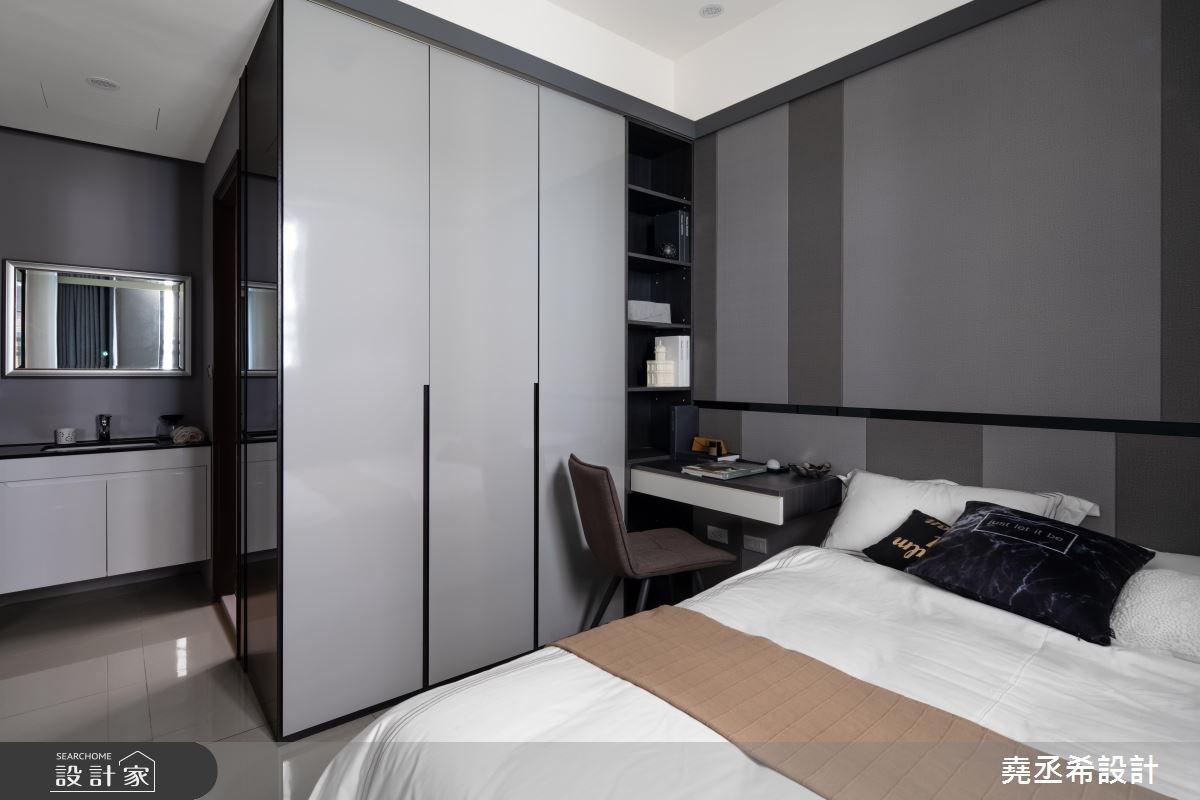 20坪新成屋(5年以下)_現代風臥室案例圖片_堯丞希設計_堯丞希_30之10