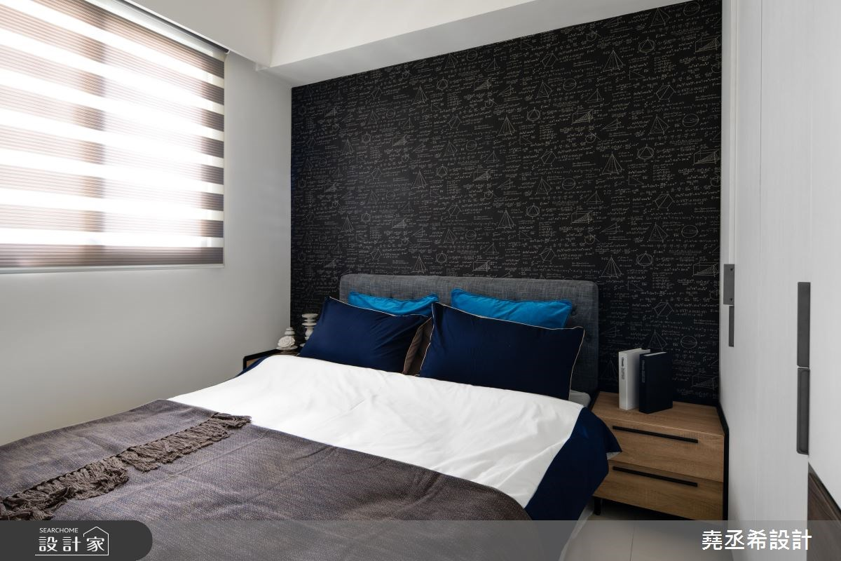 20坪新成屋(5年以下)_現代風臥室案例圖片_堯丞希設計_堯丞希_30之12