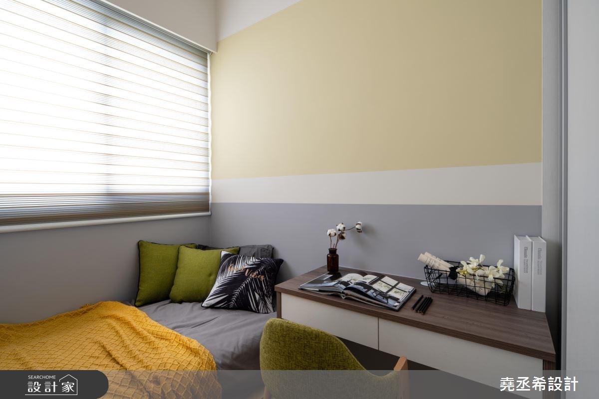 20坪新成屋(5年以下)_現代風臥室案例圖片_堯丞希設計_堯丞希_30之13