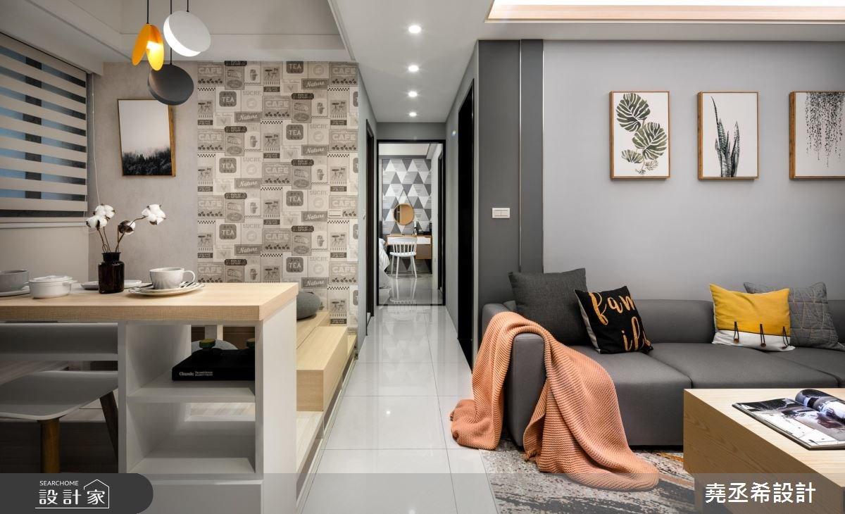 15坪新成屋(5年以下)_北歐風客廳案例圖片_堯丞希設計_堯丞希_31之1