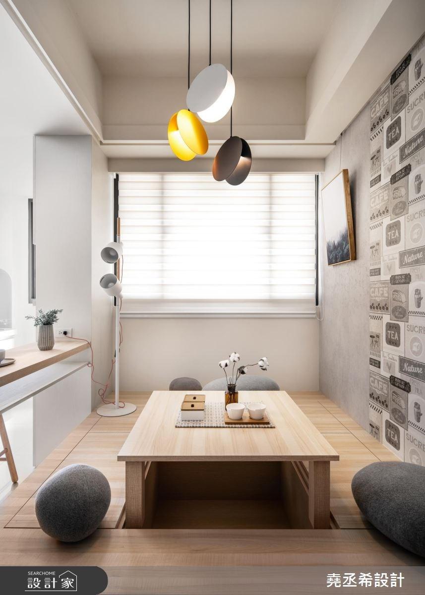 15坪新成屋(5年以下)_北歐風和室案例圖片_堯丞希設計_堯丞希_31之5
