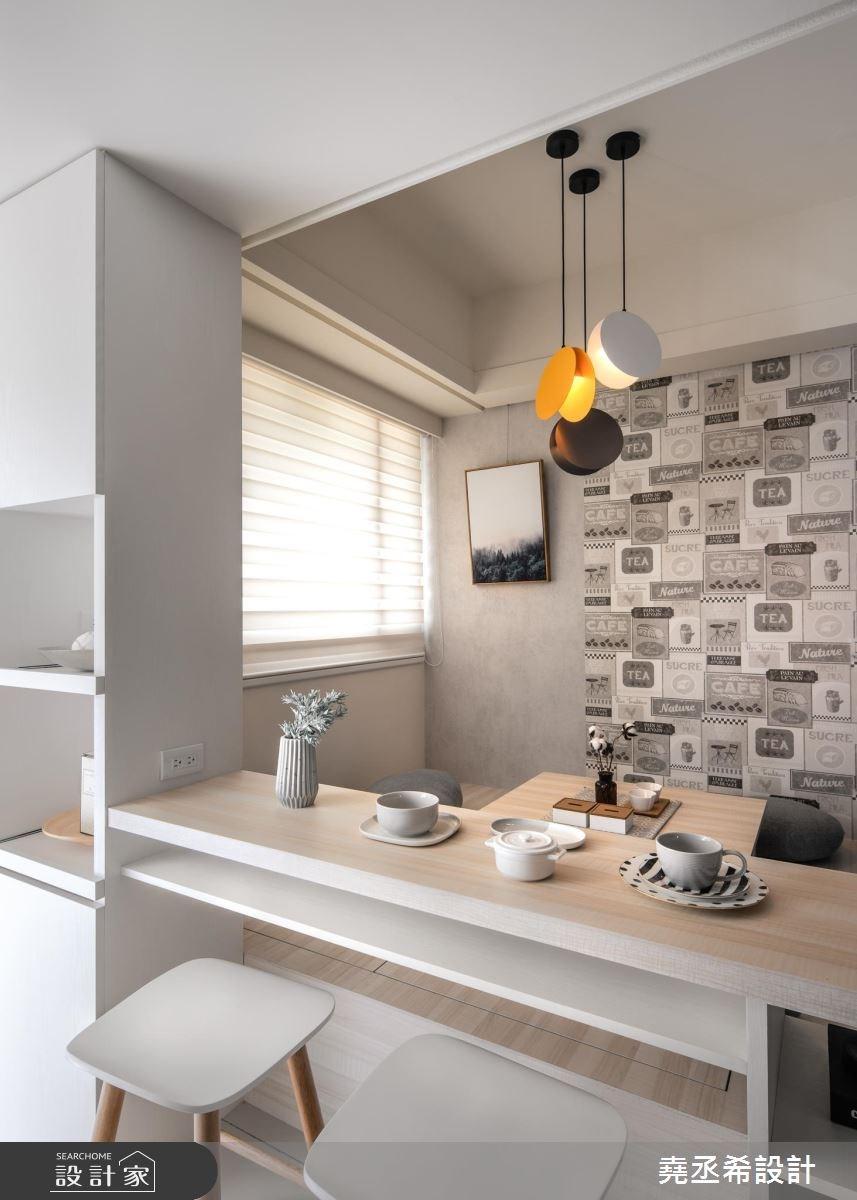 15坪新成屋(5年以下)_北歐風餐廳和室案例圖片_堯丞希設計_堯丞希_31之6