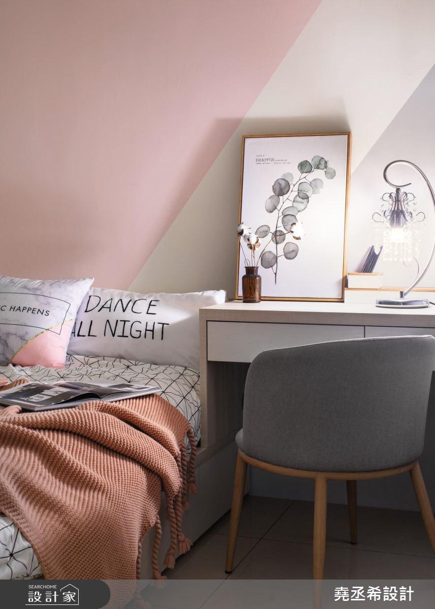 15坪新成屋(5年以下)_北歐風臥室案例圖片_堯丞希設計_堯丞希_31之12