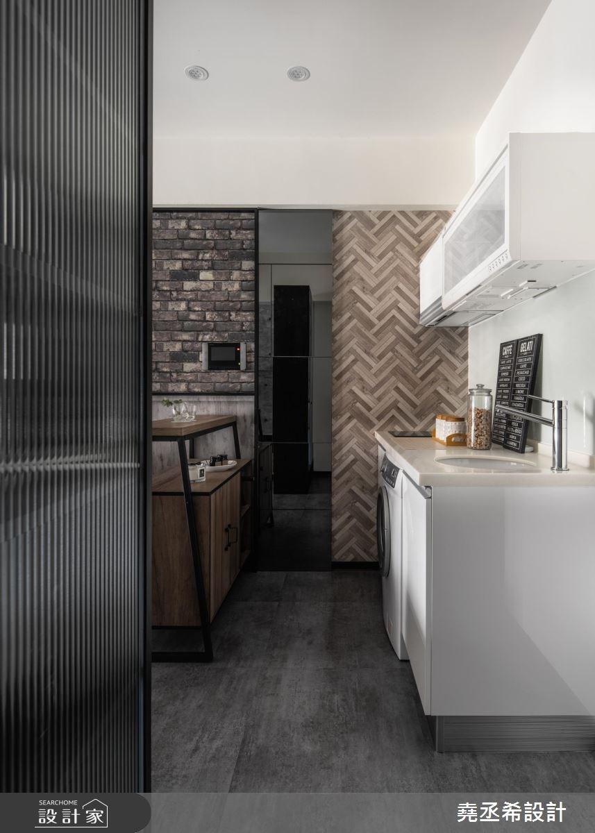 10坪新成屋(5年以下)_工業風廚房案例圖片_堯丞希設計_堯丞希_32之2